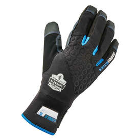 Ergodyne 2X Black ProFlex® 818WP Performance Thermal Waterproof Synthetic Leather Dual-Zone 3M™ Thinsulate™ Lined Cold Weather Gloves