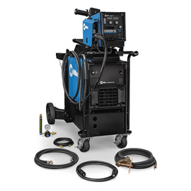 Miller® MIG Runner™ Deltaweld® 350 MIG Welder, 230 - 460 Volt 350 Amps At 60% Duty Cycle 400 3 Phase 405 lb With Intellx™ Pro Feeder