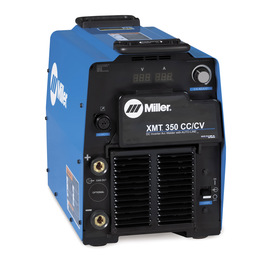 Miller® XMT® 350 CC/CV 208 - 575 Volt 1 or 3 Phase 60 Hz Multi Process Welding Power Source With Auto-Line™ Power Management Technology