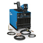 Miller® Dimension™ 452 CC/CV 230/460/575 Volt 3 Phase 60 Hz Multi Process Welder Stationary Package With Dimension™ 452 Power Source, S-74D Wire Feeder, Bernard® Q™-Gun And Industrial MIG 4/0 Kit With 10' Weld Cable, 15' Work Cable And Smith® Regulator/Flowmeter With 10' Hose