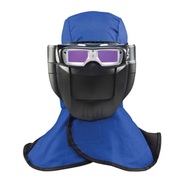 Miller Weld-Mask™ Black/Blue Welding Helmet With 1.8 inch X 2 inches Variable Shades 5 - 13 Auto Darkening Lens