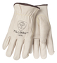 Tillman™ Medium Pearl Cowhide Fleece Lined Cold Weather Gloves