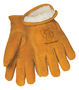 Tillman® Large Brown Cowhide Pile Lined Cold Weather Gloves