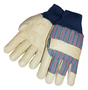 Tillman™ X-Large Pearl And Blue Pigskin Thinsulate™ Lined Cold Weather Gloves