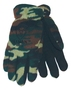 Tillman™ Large Camouflage And Black Polar Fleece And Leather ColdBlock™/Cotton/Polyester Lined Cold Weather Gloves