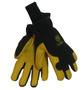 Tillman™ Large Black And Yellow Nylon And Spandex And Deerskin Thinsulate™ Lined Cold Weather Gloves