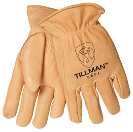 Tillman® Medium Gold Deerskin Thinsulate™ Lined Cold Weather Gloves