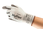 Ansell Size 7 HyFlex® 13 Gauge INTERCEPT™ Technology Cut Resistant Gloves With Polyurethane Coated Palm