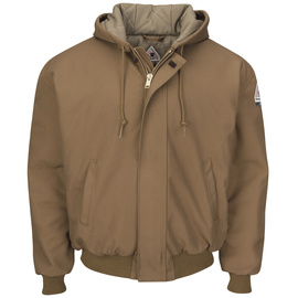 Bulwark® X-Large Regular Brown Duck Cotton Nylon Modacryclic® Flame Resistant Jacket
