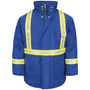 Bulwark® 2X Tall Royal Blue Cotton Nylon Flame Resistant Jacket