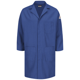 Bulwark® Medium Regular Royal Blue Nomex® Aramid Kevlar® Aramid Flame Resistant Lab Coat