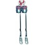 Miller® 7 1/2' Twin Turbo™ T-BAK™ Fall Protection System With (2) MFLT-1/7.5FT Turbo T-BAK Units