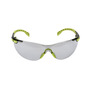 3M™ Solus™ Clear, Black And Green Safety Glasses With Gray Anti-Fog Lens