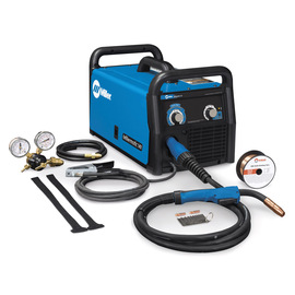 Miller® Millermatic® 141 MIG Welder, 110 - 120 Volt 90 Amps At 18.5 Volts At 20% Duty Cycle 90 1 Phase 51 lb