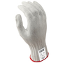 SHOWA® Size 8 917CS10 7 Gauge Stainless Steel And Fiber Cut Resistant Gloves With PVC Dot Coating