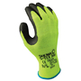 SHOWA® Size 10 S-TEX® 300 10 Gauge Hagane Coil® And Polyester And Stainless Steel Cut Resistant Gloves With Rubber Coating