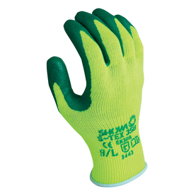 SHOWA® Size 10 S-TEX® 350 10 Gauge Hagane Coil® And Polyester And Stainless Steel Cut Resistant Gloves With Nitrile Coating
