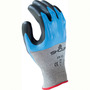 SHOWA® Size 8 S-TEX® 376 13 Gauge Hagane Coil® And Polyester And Stainless Steel Cut Resistant Gloves With Nitrile Coating