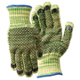 Wells Lamont Large METALGUARD®/Whizard® 7 Gauge DuPont™ Kevlar® And Stainless Steel Cut Resistant Gloves With PVC Dot Coated Both Sides