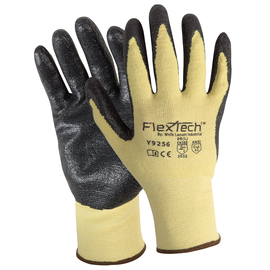 Wells Lamont Medium FlexTech™ 13 Gauge DuPont™ Kevlar®, LYCRA® And Foam Nitrile Cut Resistant Gloves With Foam Nitrile Coated Palm And Fingertips