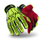 HexArmor® Large Rig Lizard® SuperFabric®, TPR And TP-X® Cut Resistant Gloves With IR-X® Impact Exoskleton™ Coated Back-Of-Hand And Reinforced Index Finger And Thumb Crotch