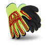 HexArmor® Medium Rig Lizard Thin Lizzie™ 13 Gauge Acrylic, Fiberglass And TPR Cut Resistant Gloves With Sandy Nitrile Coated Palm