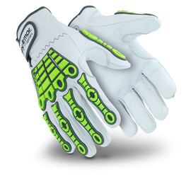 HexArmor® X-Large Chrome Series® SuperFabric®, Goatskin And TPR Cut Resistant Gloves