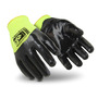 HexArmor® Medium SharpsMaster HV® SuperFabric® Cut Resistant Gloves With Flat Nitrile Three-Quarter Coated