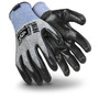 HexArmor® Large 9000 Series™ 13 Gauge SuperFabric®, High Performance Polyethylene And Fiberglass Cut Resistant Gloves With Flat Nitrile Coated Palm And Fingertips