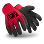 HexArmor® Large 9000 Series™ 10 Gauge SuperFabric® And Cotton Cut Resistant Gloves With Wrinkle Rubber Coated Palm And Fingertips