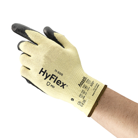 Ansell Size 11 HyFlex® 15 Gauge DuPont™ Kevlar® Cut Resistant Gloves With Foam Nitrile Coated Palm
