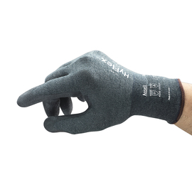 Ansell Size 10 HyFlex® 18 Gauge INTERCEPT™ Technology Cut Resistant Gloves With Nitrile Coated Palm