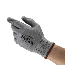 Ansell Size 7 HyFlex® 15 Gauge DSM Dyneema® And Lycra® Cut Resistant Gloves With Polyurethane Coated Palm