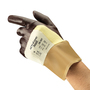 Ansell Size 10 ActivArmr® DuPont™ Kevlar® And Cotton Two Piece Liner Cut Resistant Gloves With Nitrile Three-Quarter Dip Coating