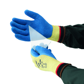Ansell Size 8 ActivArmr® 10 Gauge DuPont™ Kevlar® Cut Resistant Gloves With Latex/Rubber Coated Palm