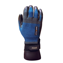 Ansell Size 9 ActivArmr® 18 Gauge DuPont™ Kevlar®,  Nylon And Spandex And Stainless Steel Cut Resistant Gloves With Foam Nitrile Coated Palm