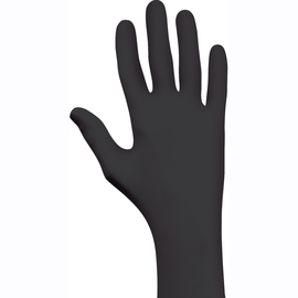 SHOWA® 2X Black 4 mil Nitrile/EBT Disposable Gloves