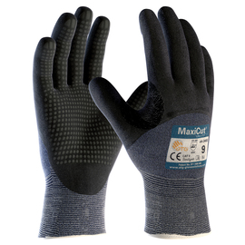 PIP® Medium MaxiCut® Ultra DT™ 15 Gauge Engineered Yarn Cut Resistant Gloves With Nitrile Coating