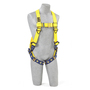 3M™ DBI-SALA® Small Delta™ No-Tangle™ Full Body/Vest Style Harness With Back And Shoulder Retrieval D-Ring And Tongue Leg Strap Buckle