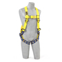 3M™ DBI-SALA® 3X Delta™ No-Tangle™ Full Body/Vest Style Harness With Back D-Ring And Tongue Leg Strap Buckle