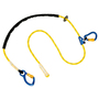 3M™ DBI-SALA® 8' Adjustable Nylon Polyester Lanyard With Aluminum Carabiner And Rope Adjuster