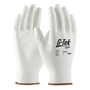 PIP® Medium G-Tek® GP™ 13 Gauge White Polyurethane Palm And Finger Coated Work Gloves With Nylon Liner And Continuous Knit Wrist