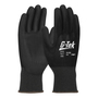 PIP® 2X G-Tek® 13 Gauge Black Polyurethane Palm And Finger Coated Work Gloves With Nylon Liner And Continuous Knit Wrist