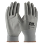 PIP® Medium G-Tek® Touch 13 Gauge Gray Nitrile Palm And Finger Coated Work Gloves With Nylon And Polyester Liner And Continuous Knit Wrist