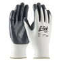 PIP® X-Small G-Tek® 13 Gauge Gray Nitrile Palm And Finger Coated Work Gloves With Nylon Liner And Continuous Knit Wrist