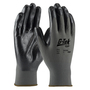 PIP® Small G-Tek® GP™ 13 Gauge Black Nitrile Palm And Finger Coated Work Gloves With Nylon Liner And Continuous Knit Wrist