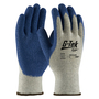 PIP® Medium G-Tek® GP™ 10 Gauge Blue Nitrile Palm And Finger Coated Work Gloves With Cotton Liner And Continuous Knit Wrist
