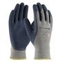 PIP® Large PowerGrab™ Plus 10 Gauge Blue Nitrile Palm And Finger Coated Work Gloves With Cotton And Polyester Liner And Continuous Knit Wrist