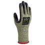 SHOWA® Size 8 10 Gauge Spandex, Aramid And Stainless Steel Cut Resistant Gloves With Foam Nitrile Coated Palm