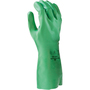 SHOWA® Size 7 Green 15 mil Unsupported Biodegradable Nitrile Chemical Resistant Gloves